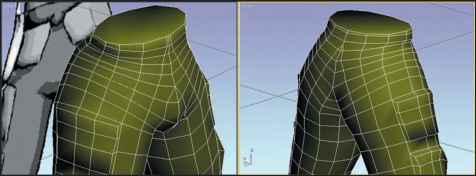 3ds Max Groin Area